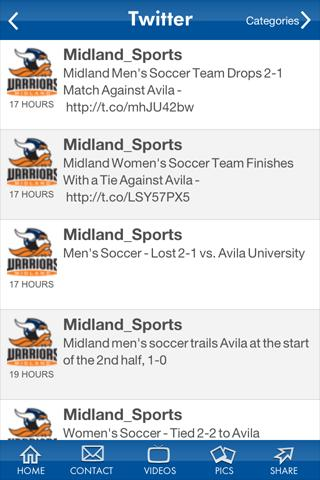 Midland University - screenshot