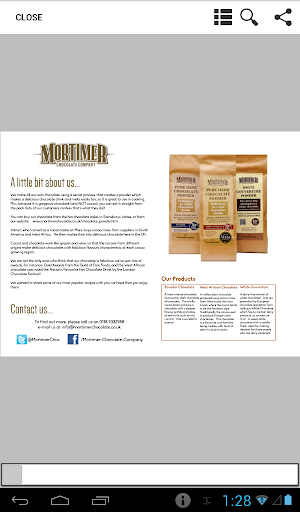 Mortimer Chocolate Recipe Book
