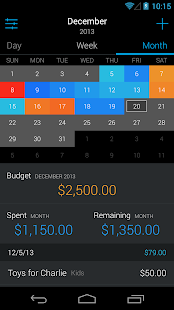 Saved - Budgeting and Expenses - screenshot thumbnail