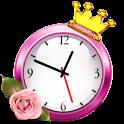 Женский будильник icon