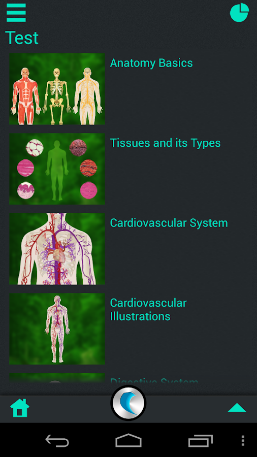 Human Body Anatomy by WAGmob - screenshot