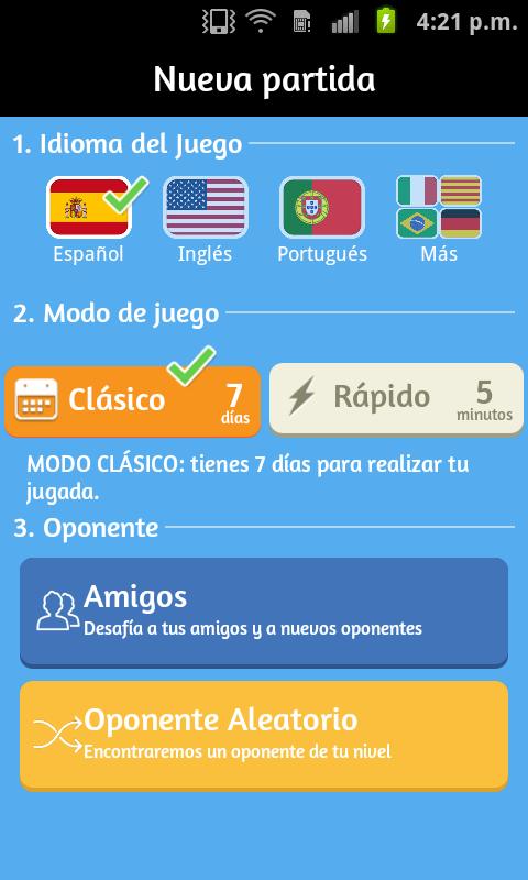 Apalabrados - screenshot