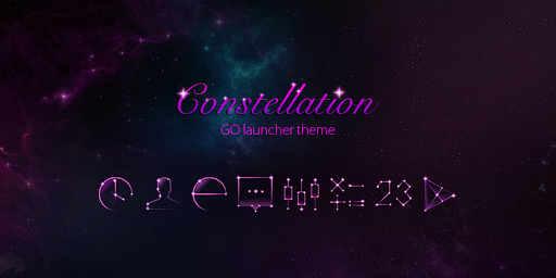 Constellation GOLauncher Theme