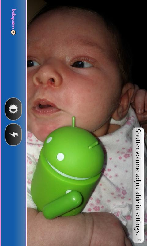 BabyCam Monitor DEMO - screenshot