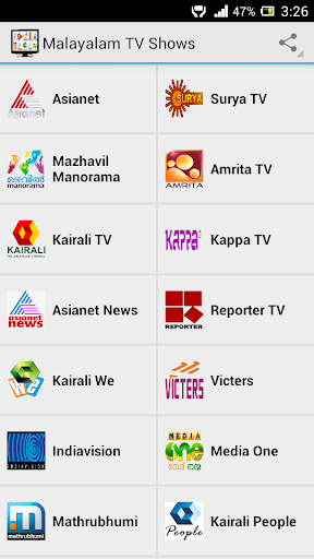 Malayalam TV Shows