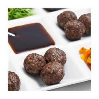 Teriyaki Meatball Appetizers.