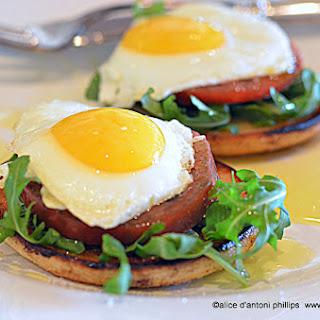 Breakfast Salad Eggs.