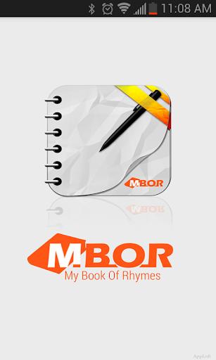 【免費音樂App】MBOR (My Book Of Rhymes)-APP點子