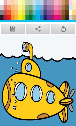 Kids Paint: Ocean Coloring