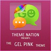 GOSMSTHEME Gel Pink Theme