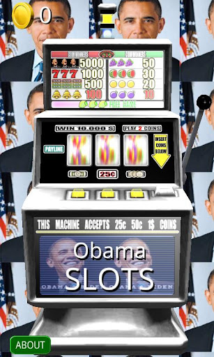 3D Obama Slots - Free