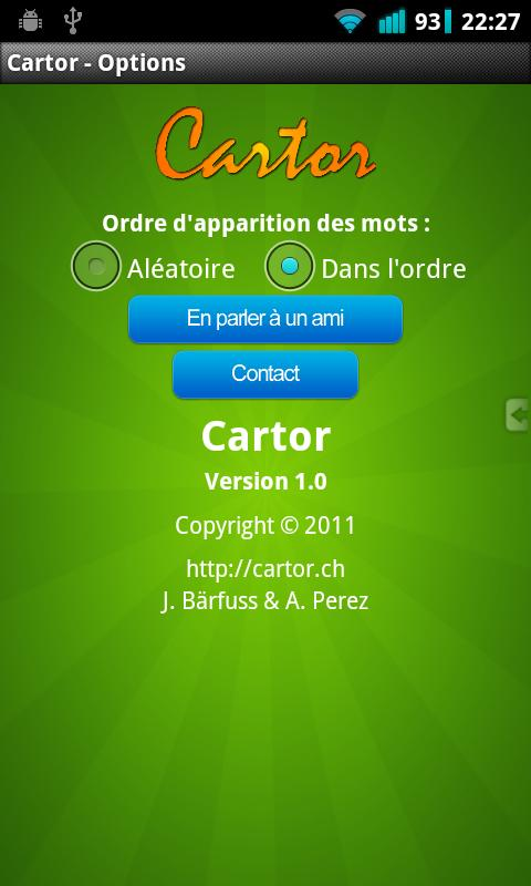 Cartor Lite- screenshot