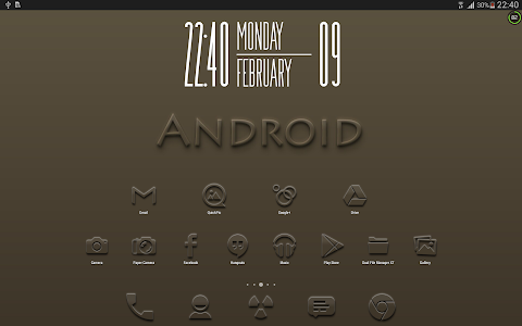 Embossed - Icon Pack v1.0