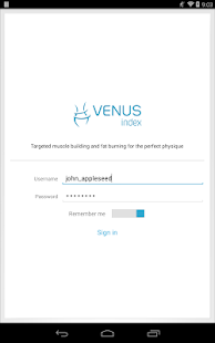 Venus Index Mobile- screenshot thumbnail
