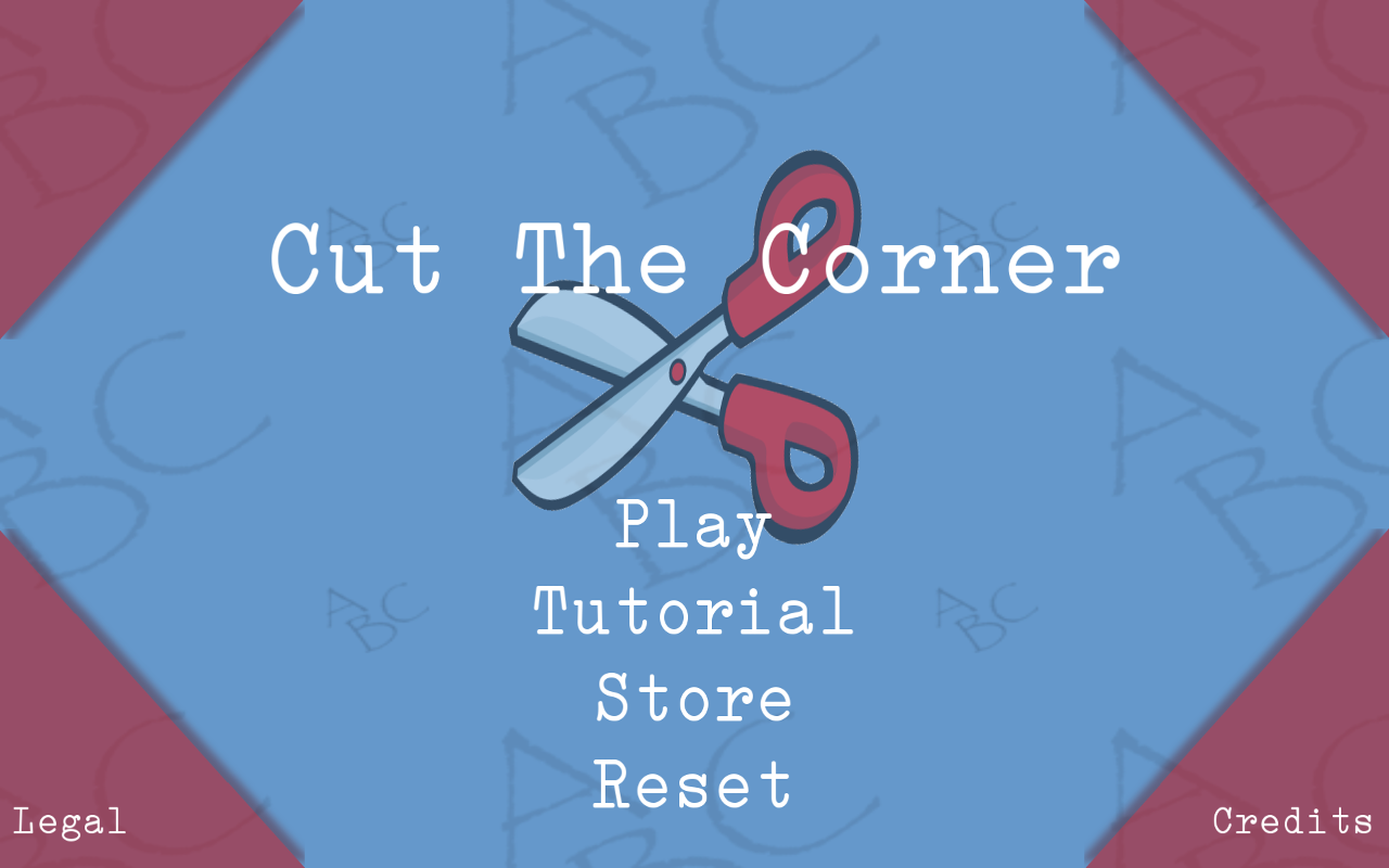 Cut The Corner Words - screenshot