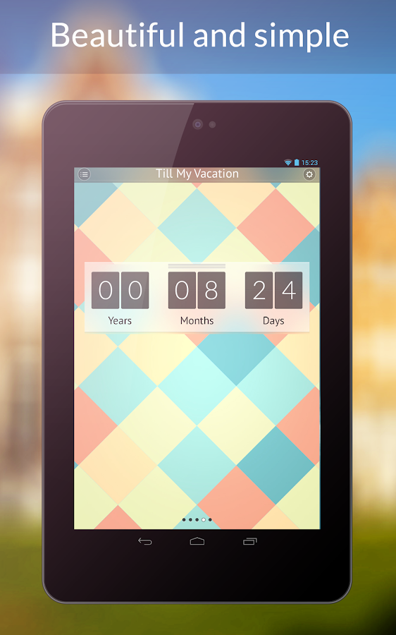 My Day - Countdown Timer - screenshot