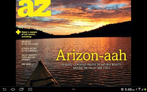 AZ Today - screenshot thumbnail