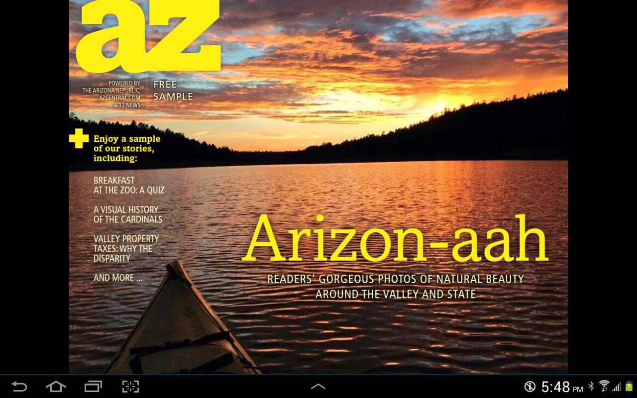 AZ Today - screenshot