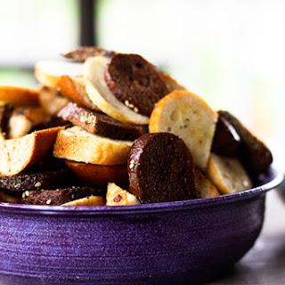 Garlic Bagel Chips | Make Ahead Mondays