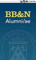 Screenshot of BB&N Alumni/ae Mobile