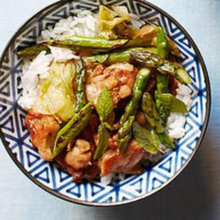 Chicken & Asparagus Stir-Fry.