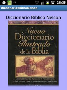 Diccionario Bíblico Nelson