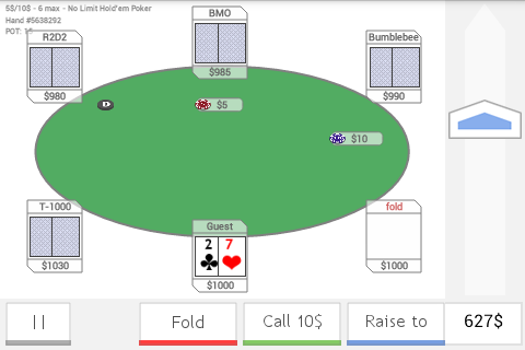 Neo Poker Bot- screenshot