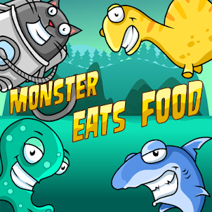 Monster Eats Food - 2 player