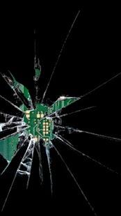 碎玻璃屏幕笑話