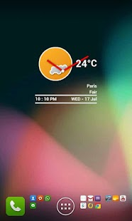 Weather Clock Full - screenshot thumbnail