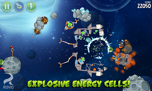 Angry Birds Space Premium Screenshot 19
