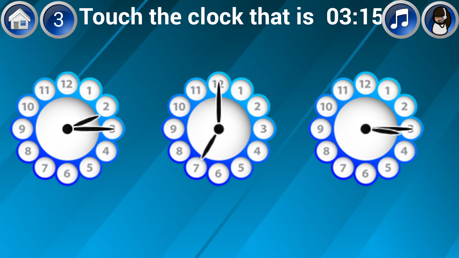 Learn Clock & Tell Time - Android Apps on Google Play