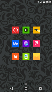 Goolors Square - icon pack screenshot 21