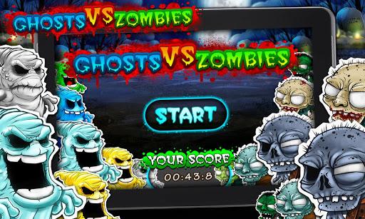 Halloween: Ghosts vs Zombies