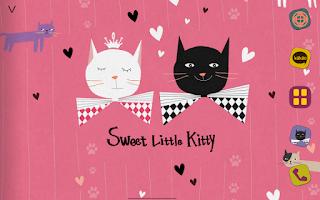 Screenshot of Sweet Kitty Atom Theme