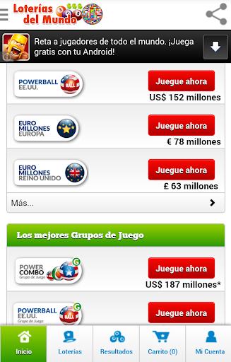 玩免費娛樂APP|下載Loterías del Mundo app不用錢|硬是要APP