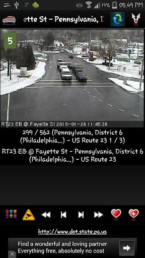 Cameras Pennsylvania - Traffic