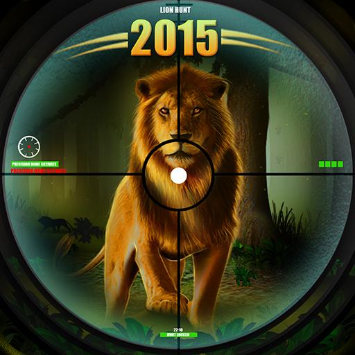 杀死狮子 3D 狩猎 LOGO-APP點子