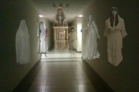 ゴーストジョーク画像: Ghost Prank