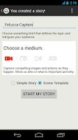 Screenshot of StoryMaker 1