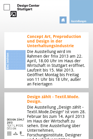 Design Center Stuttgart- screenshot