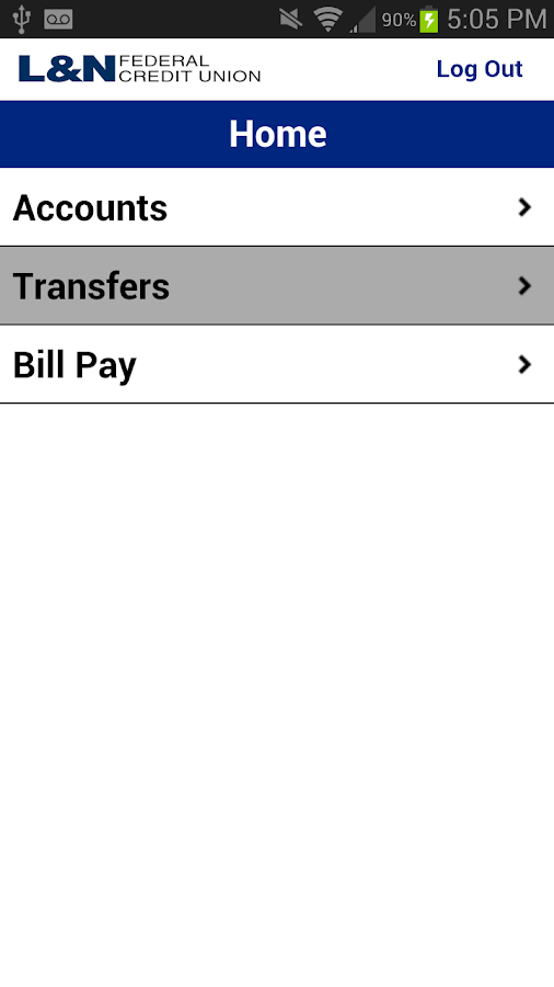 L&N FCU Mobile Banking - screenshot