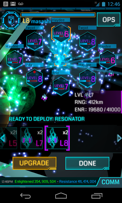 Ingress- screenshot