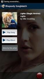Rhapsody SongMatch Screenshot 3