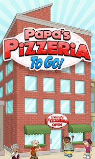 Papa's Pizzeria To Go!- screenshot thumbnail