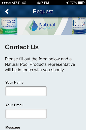 【免費商業App】Natural Pool Products-APP點子