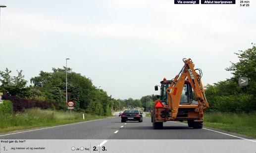 Gratis Teoriprøve Bil - screenshot thumbnail