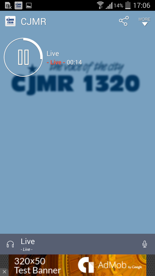 CJMR- screenshot