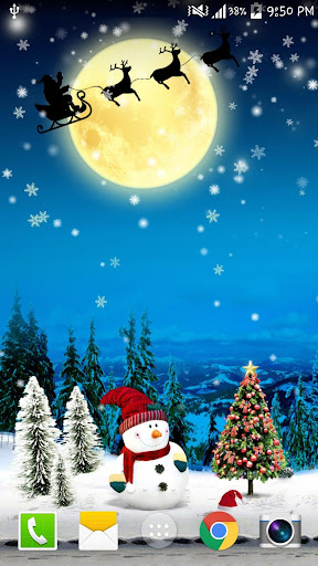 圣诞雪花圣诞动态壁纸 免费 PRO
