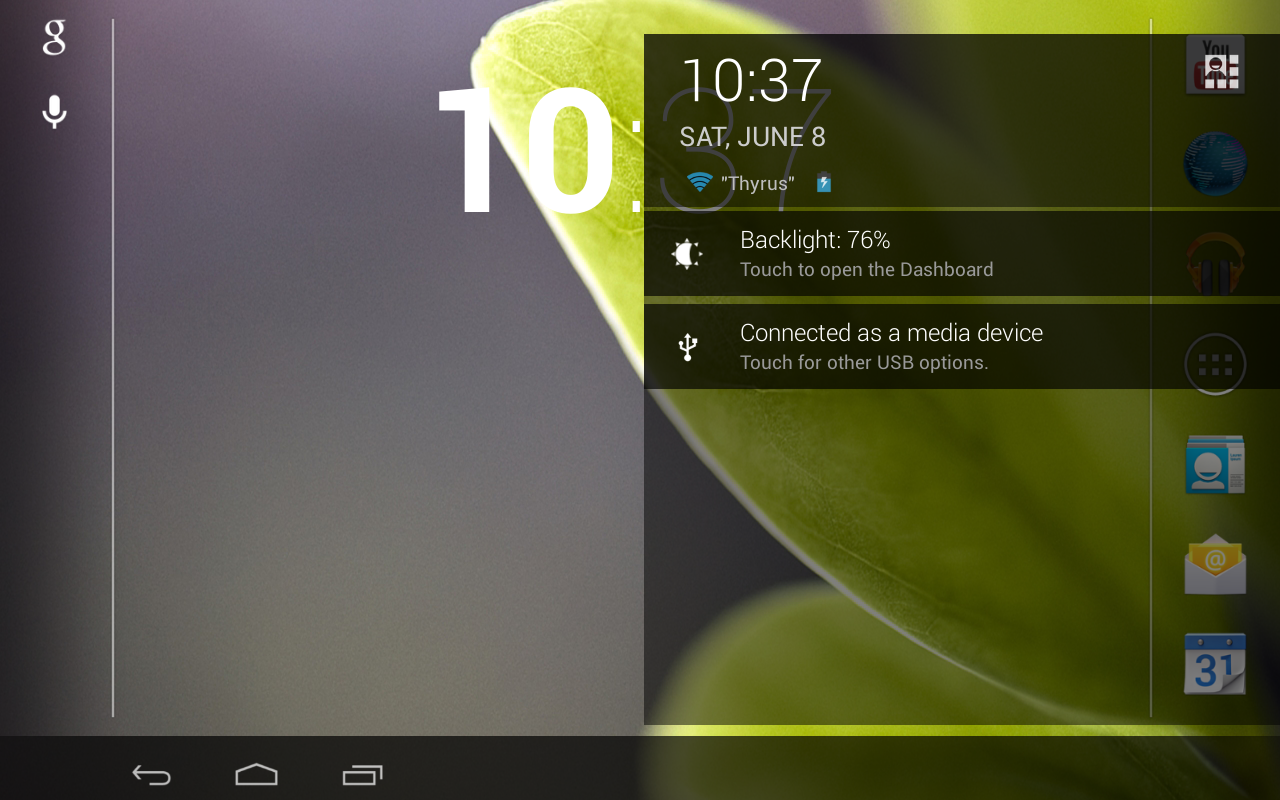 ThyrusHolo Basic CM10 Theme - screenshot